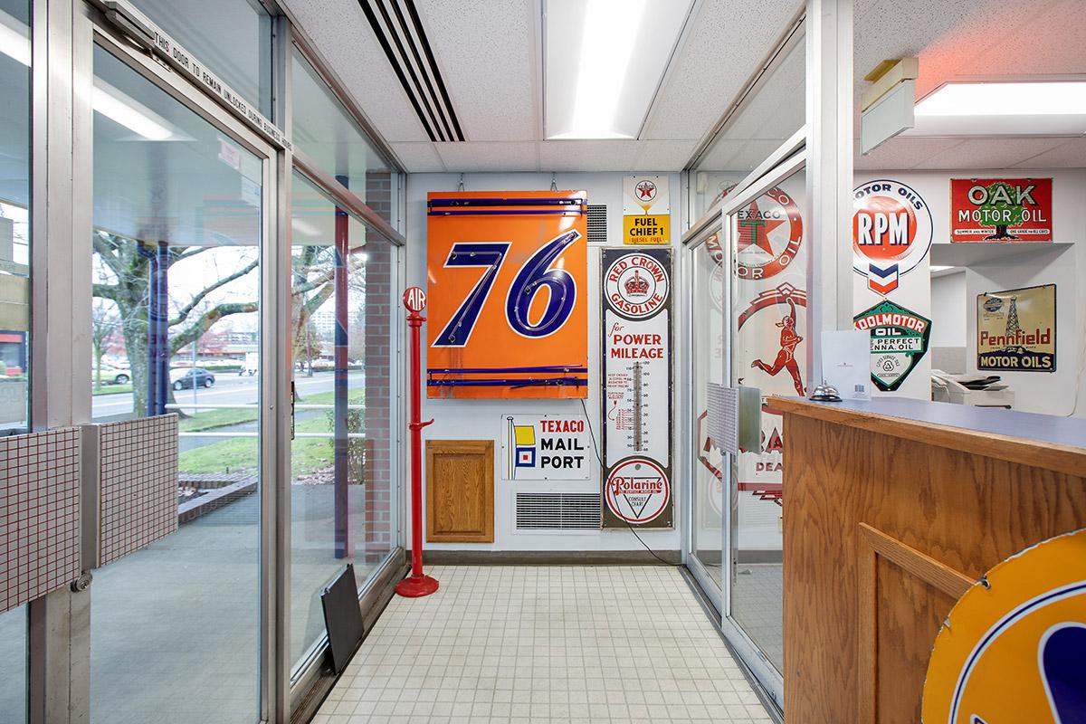 Astro fuel museum 76 sign